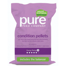 CONDITION PELLETS PURE FEED