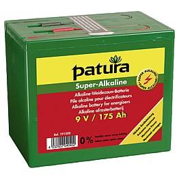 Pile cloture super alcaline 9 V / 175 Ah