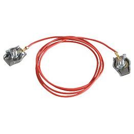 Câble de jonction cordes pour clôtures à 2 fils